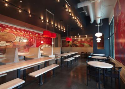 Contemporary Restaurant Lighting