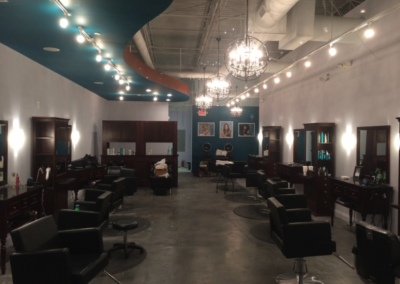Salon Lighting in Canton Georgia