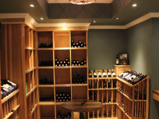 Basement Wine Cellar Lighting
