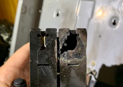 Burnt Breaker and need panel replacement in Holly Springs